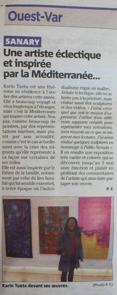 article Var Matin Sanary